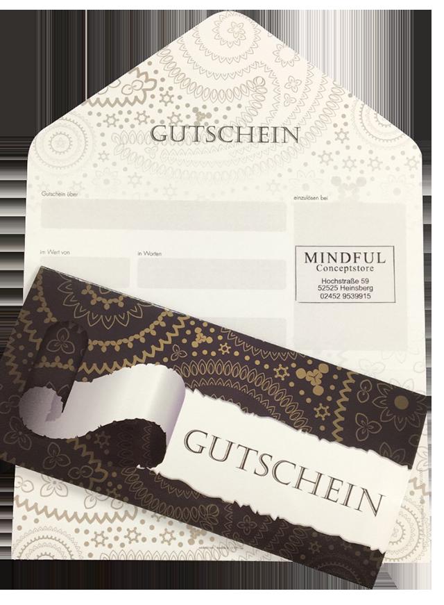 Gutscheine - Mindful Conceptstore in Heinsberg